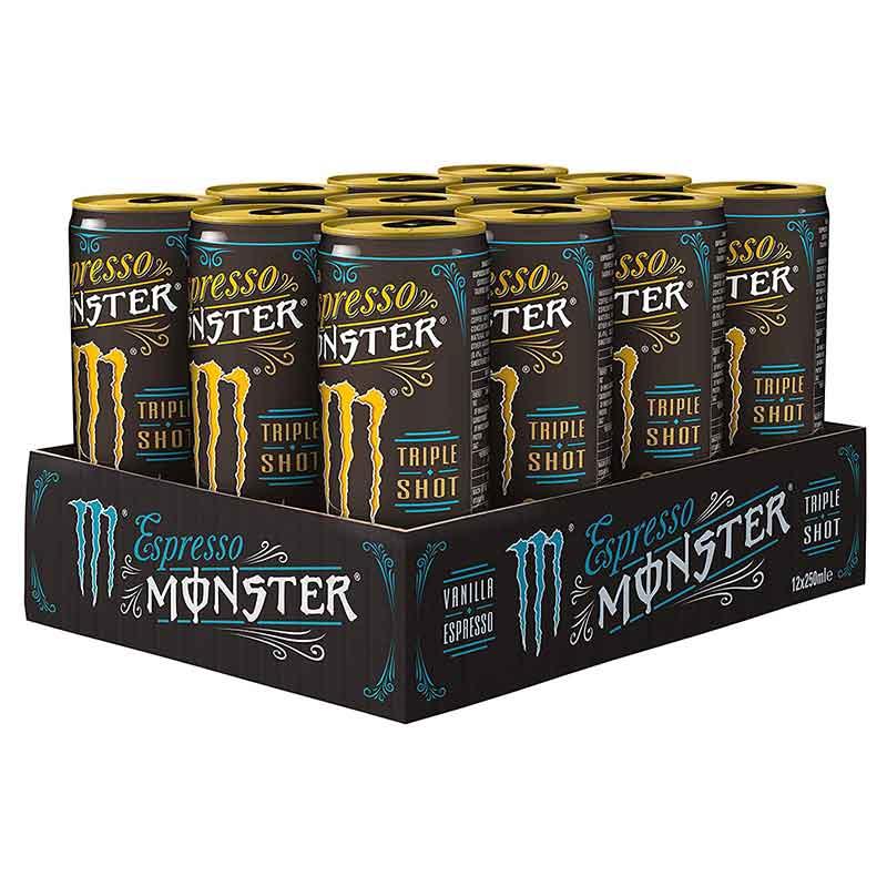 Espresso-Monster-Vanilla-Espresso,-EINWEG,-12er-Pack-(12-x-250-ml)