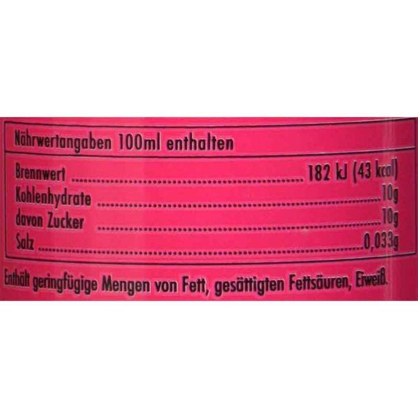 PALOMA-Watermelon-Lemonade-mit-Kohlensäure-Nährwerte