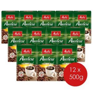 Melitta-Auslese-Klassisch-in-Stärke-4,-12er-Vorteilspack-(12-x-500-g)-gemahlener-Röstkaffee