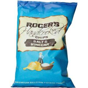 Roger's Handcooked Chips Salt & Vinegar 150g