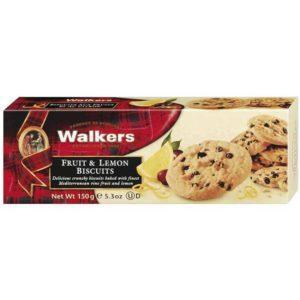 Walkers Fruit & Lemon Biscuits 150g