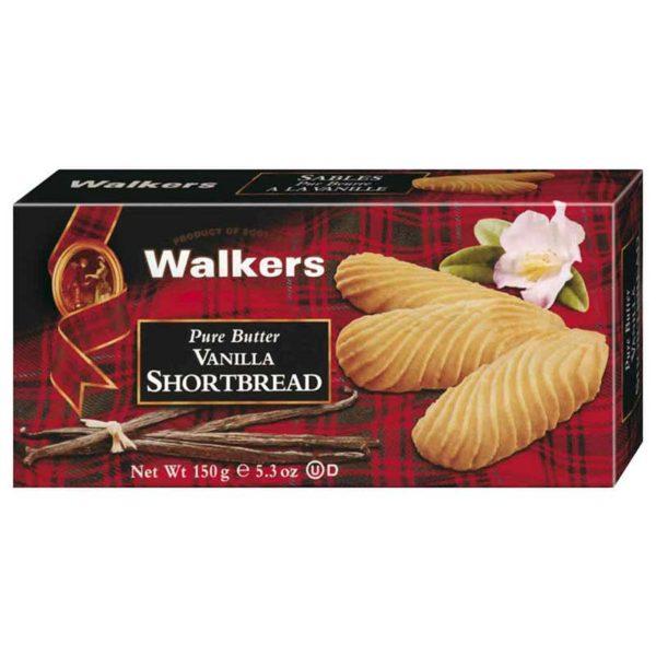 Walkers Shortbread Butter Vanille 150g