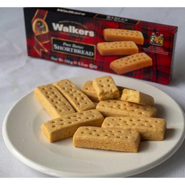 Walkers-Shortbread-Pure-Butter-Fingers-150g geöffnet