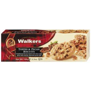 Walkers Toffee & Pecan Biscuits 150g