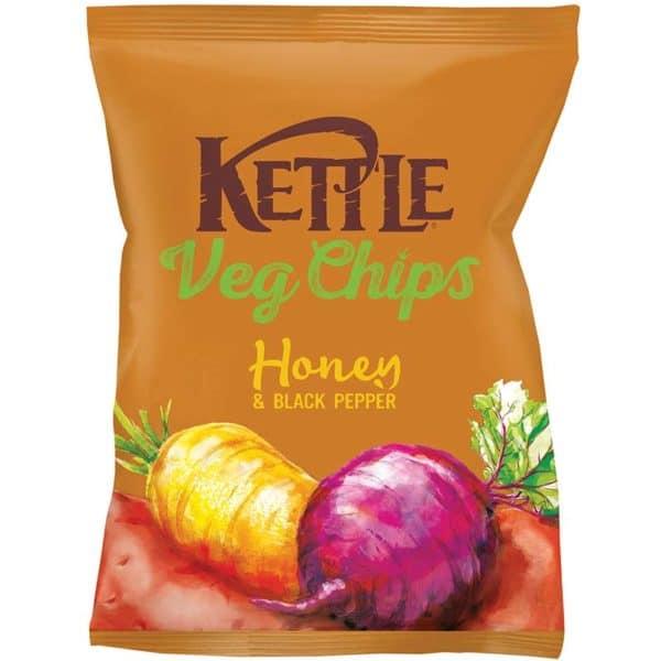 Kettle Vegchips Honey & Black Pepper 100g