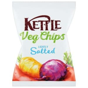 Kettle Vegchips Lightly Sea Salt 100g